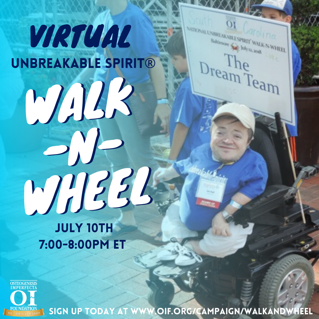 Virtual OIF Walk-n-Wheel – Register for the LIVE Zoom Call!