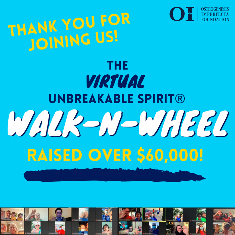It's not too late to support your favorite Walk-n-Wheel participant!