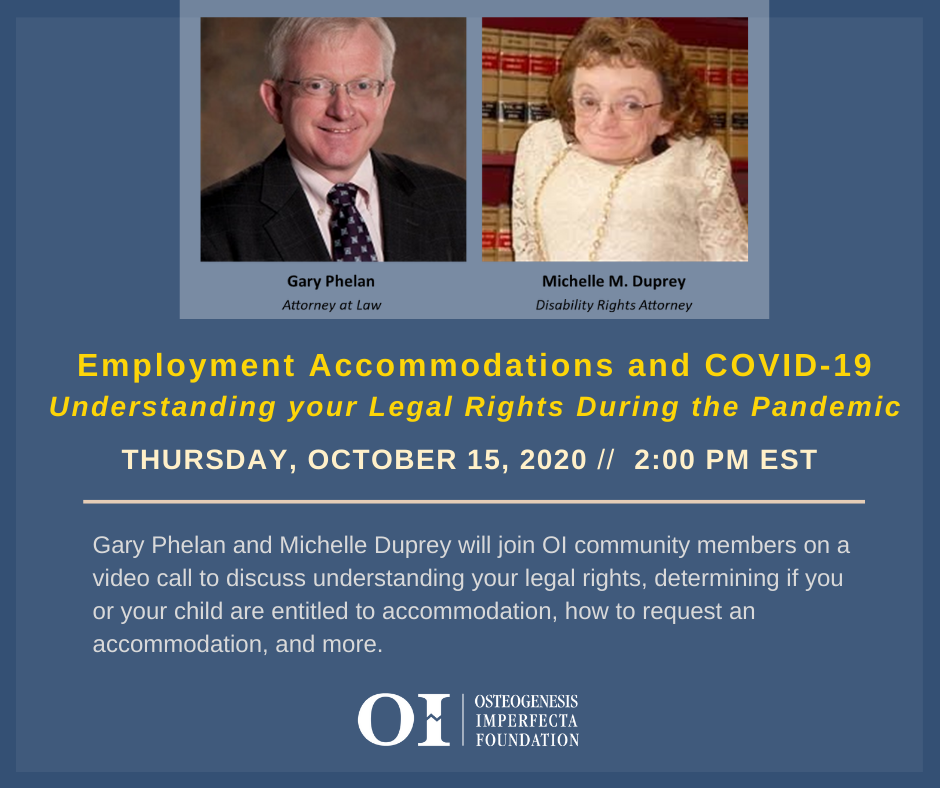 Employment Accommodations and COVID-19