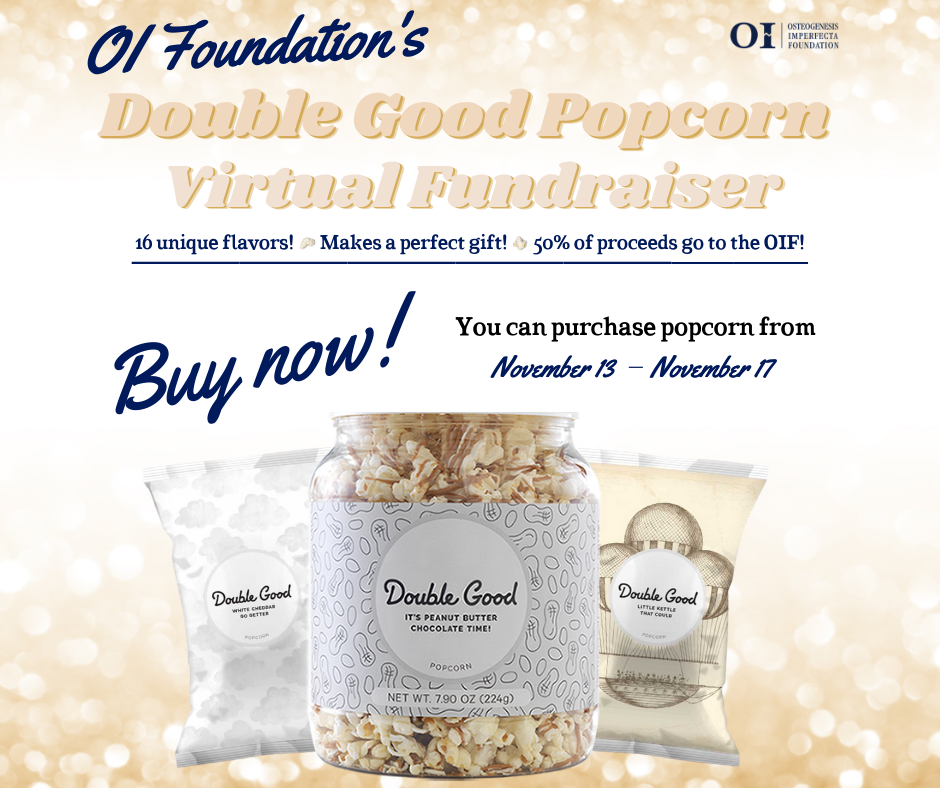 Order Delicious Popcorn & Support the OIF!