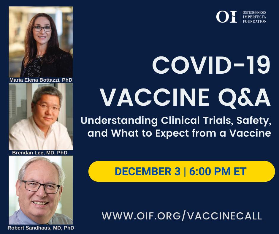 COVID-19 Vaccine Q&A Call