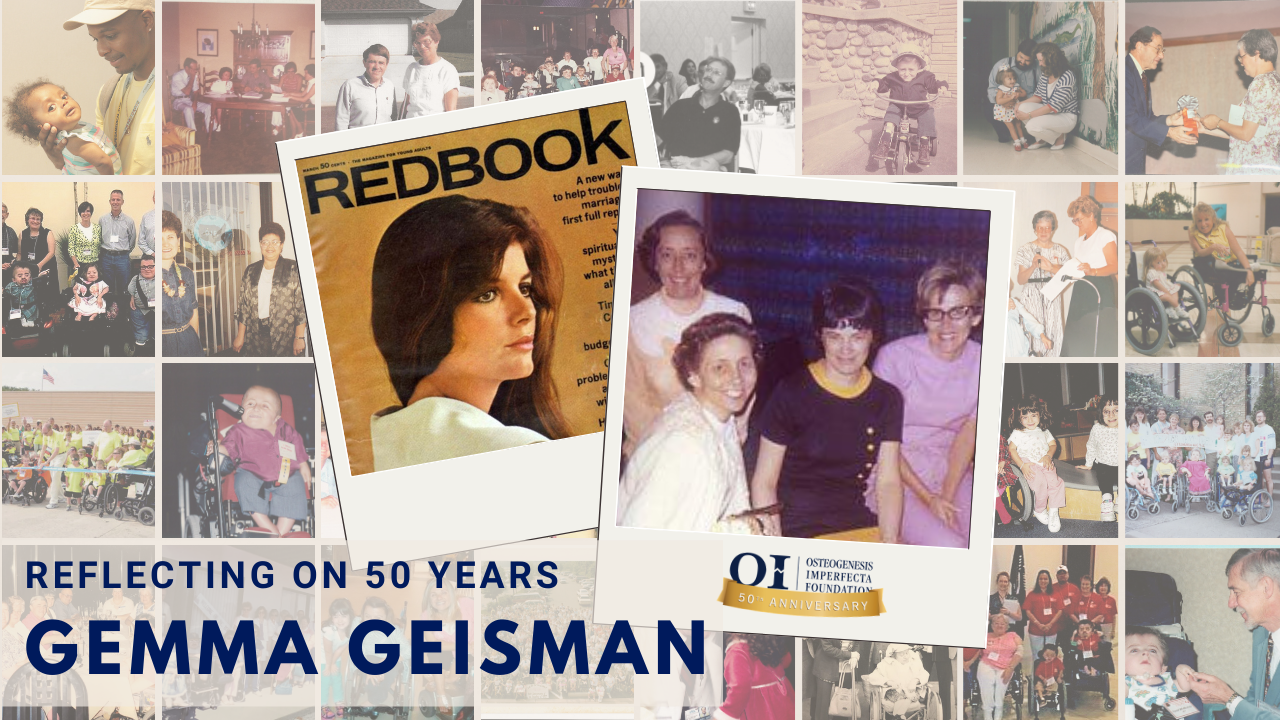 Reflecting on 50 Years – A Letter from Gemma Geisman
