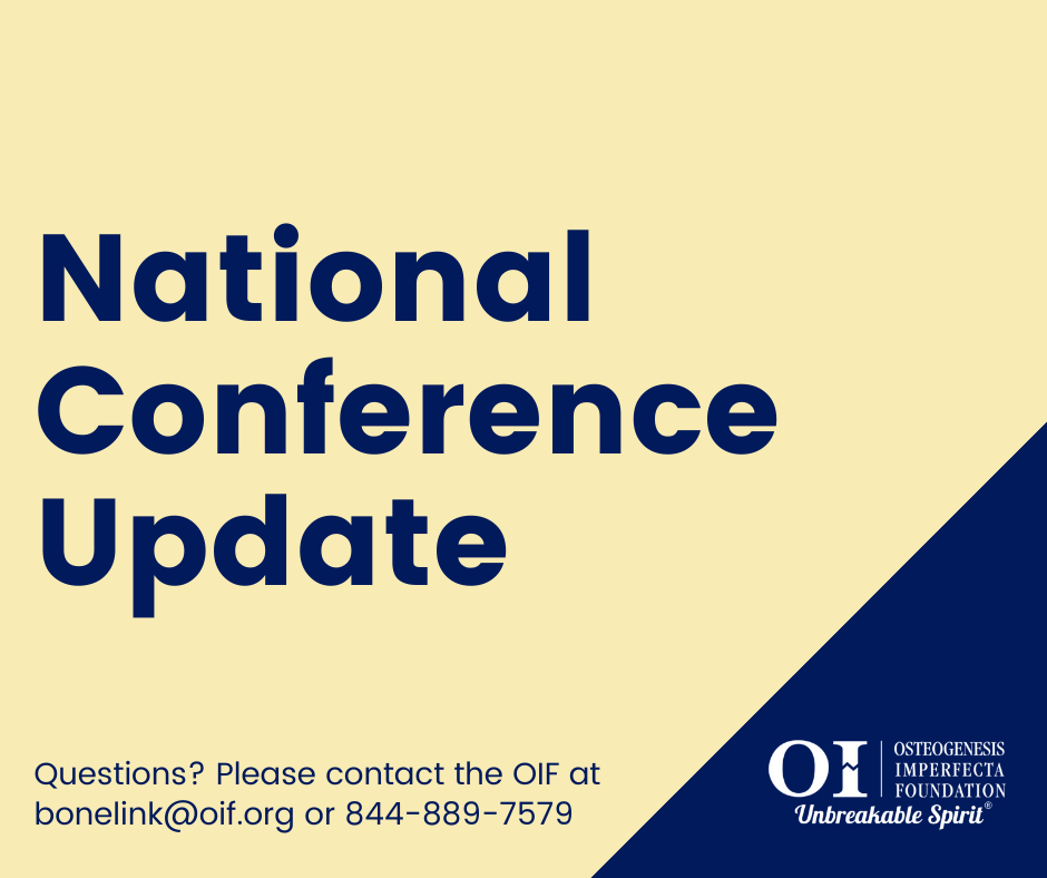 OIF National Conference Update