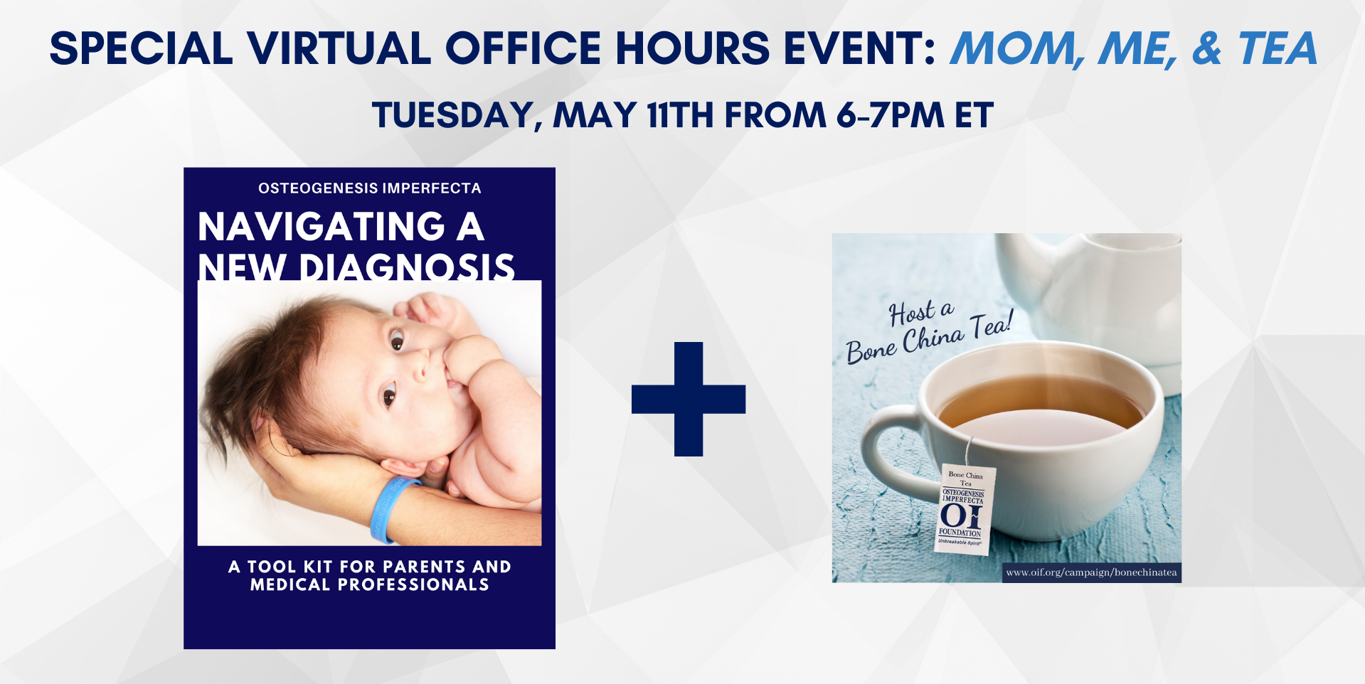 Special Virtual Office Hours Event: Mom, Me, & Tea