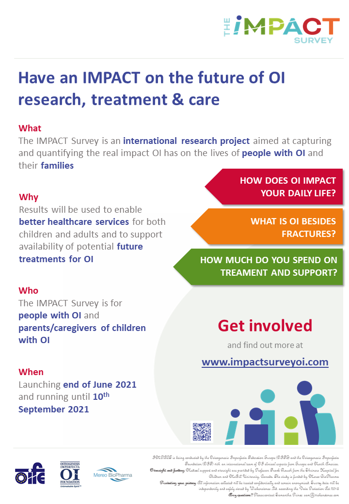 Don't Miss Your Chance to Make an IMPACT on the Future of OI Research!