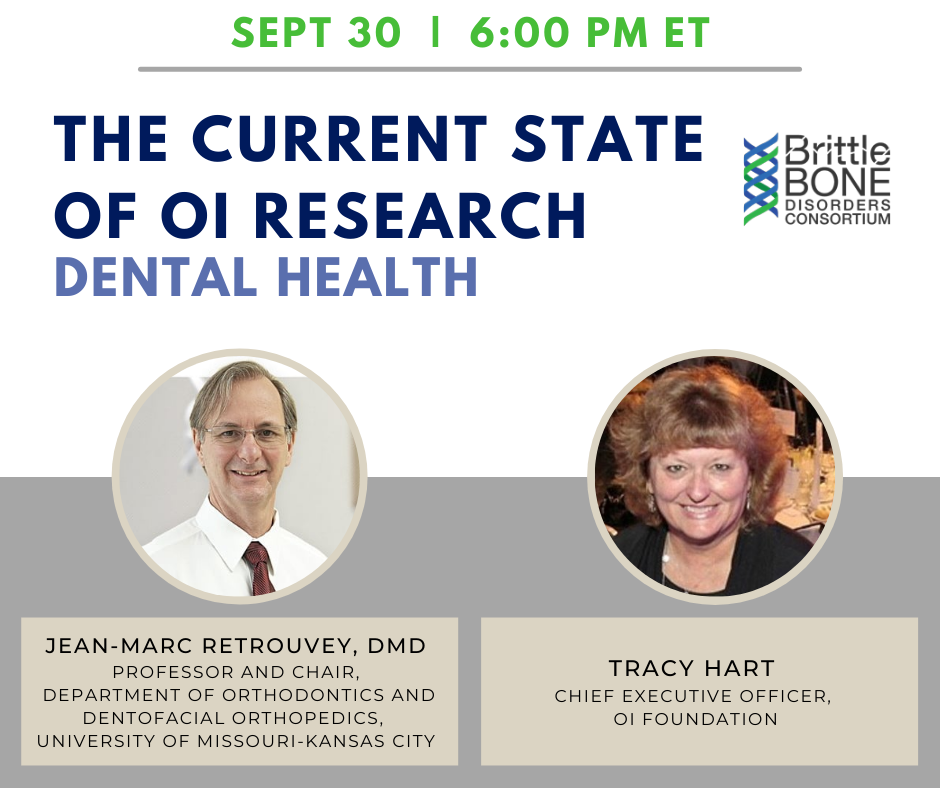 OI Research Update: Dental Health