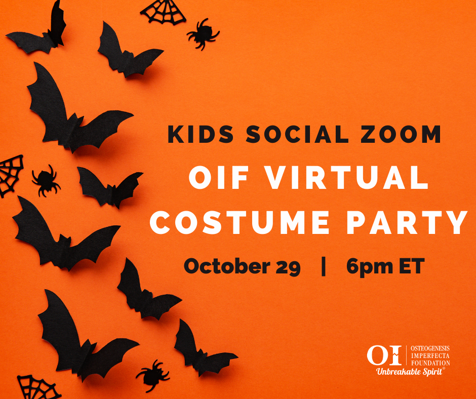 Kids Social Zoom: OIF Virtual Costume Party
